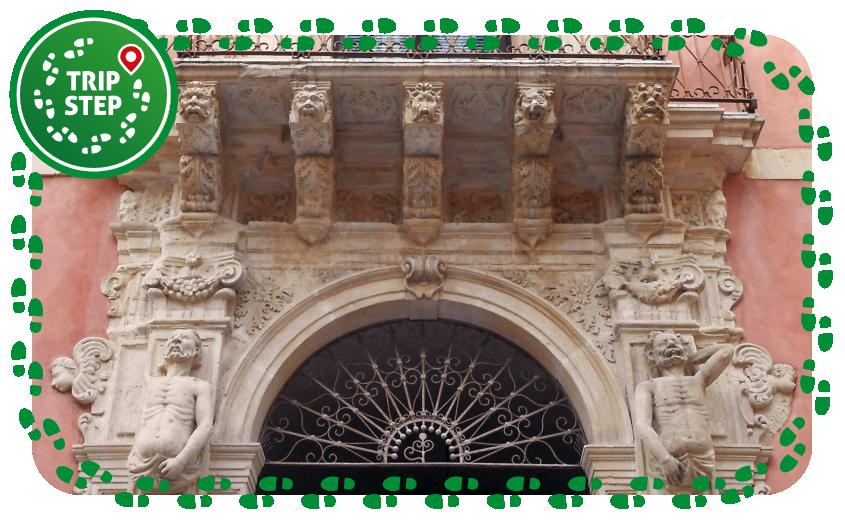 Palazzo Niceforo particolare foto di Gimalgi73 via Wikimedia Commons