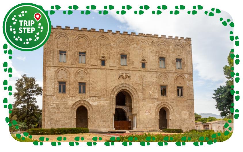 Palermo palazzo della Zisa facciata foto di: Matthias Süßen via Wikimedia Commons
