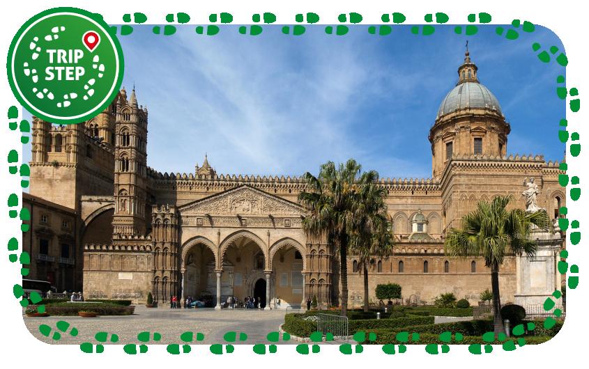 Cattedrale di Palermo vista laterale foto di: Kiban via Wikimedia Commons