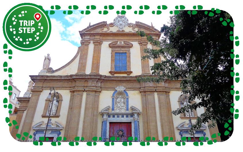 Palermo Chiesa del Gesù foto di: Effems via Wikimedia Commons