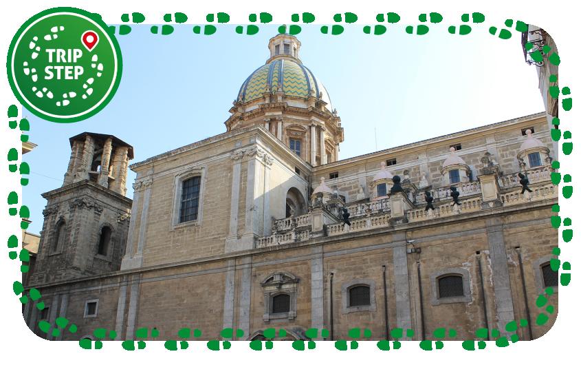 Palermo Chiesa di San Giuseppe dei Teatini prospetto da via Maqueda foto di: Patrick Nouhaille via Wikimedia Commons