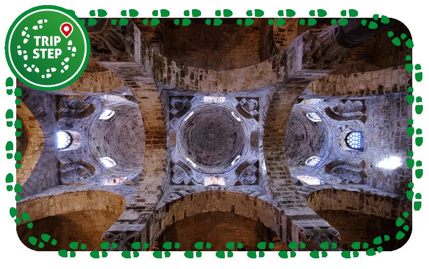 Palermo San Cataldo cupole interno foto di: Clemensfranz via Wikimedia Commons