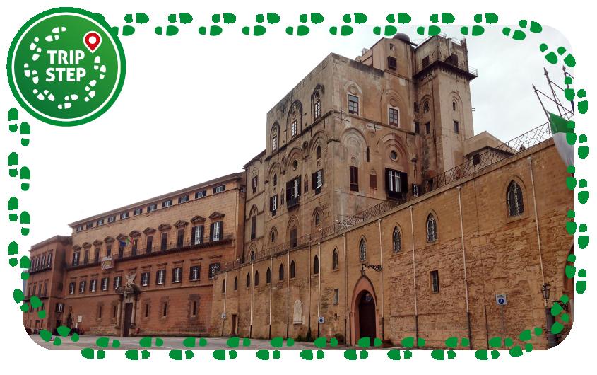 Palermo palazzo dei Normanni foto di: Lasterketak via Wikimedia Commons