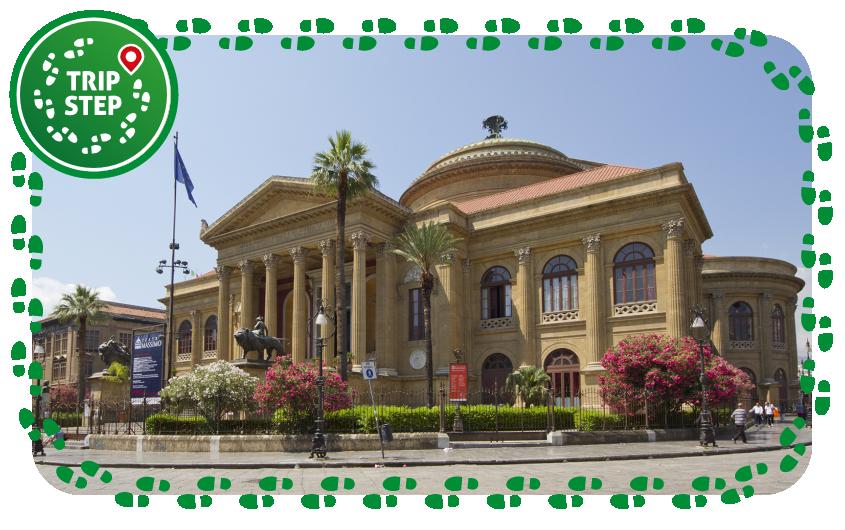 Palermo Teatro Massimo Vittorio Emanuele foto di: trolvag via Wikimedia Commons