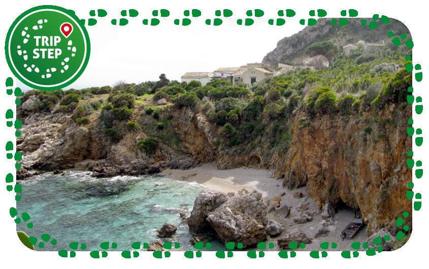 Riserva naturale orientata dello Zingaro Cala Marinella foto di Omaruru via Wikimedia Commons