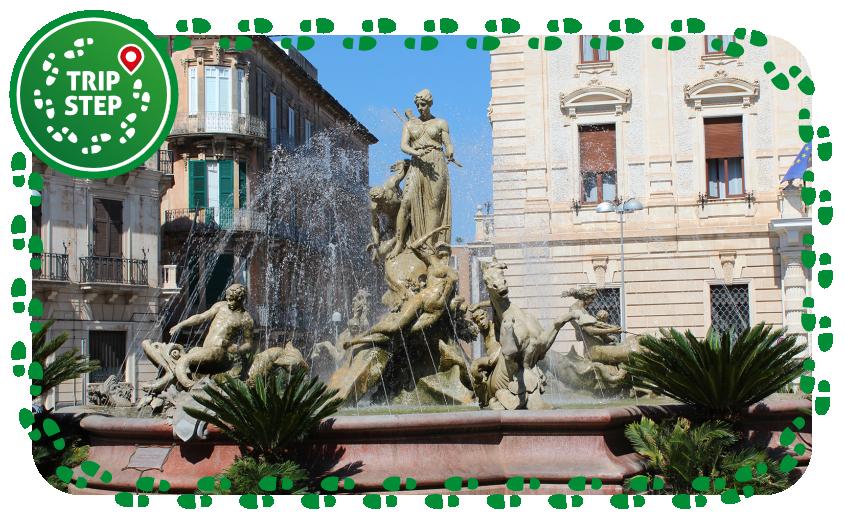 Siracusa fontana di Diana