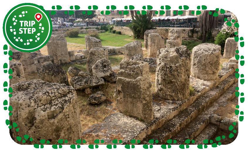 Siracusa Ortigia Tempio di Apollo