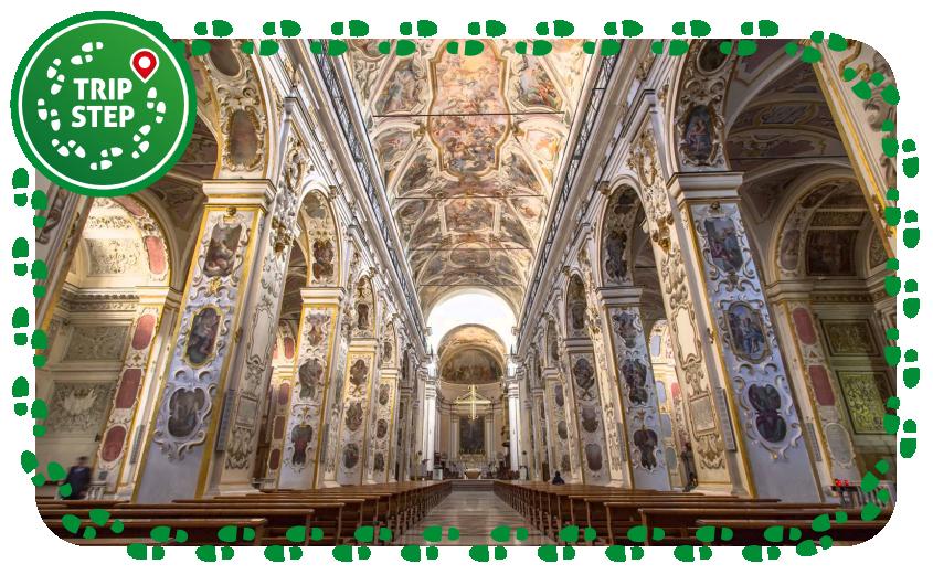 Caltanissetta Santa Maria la Nova navata centrale foto di: Ian caffrey via Wikimedia Commons