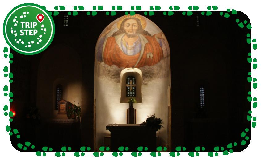 Caltanissetta abbazia di Santo Spirito altare foto di: Davide Mauro via Wikimedia Commons