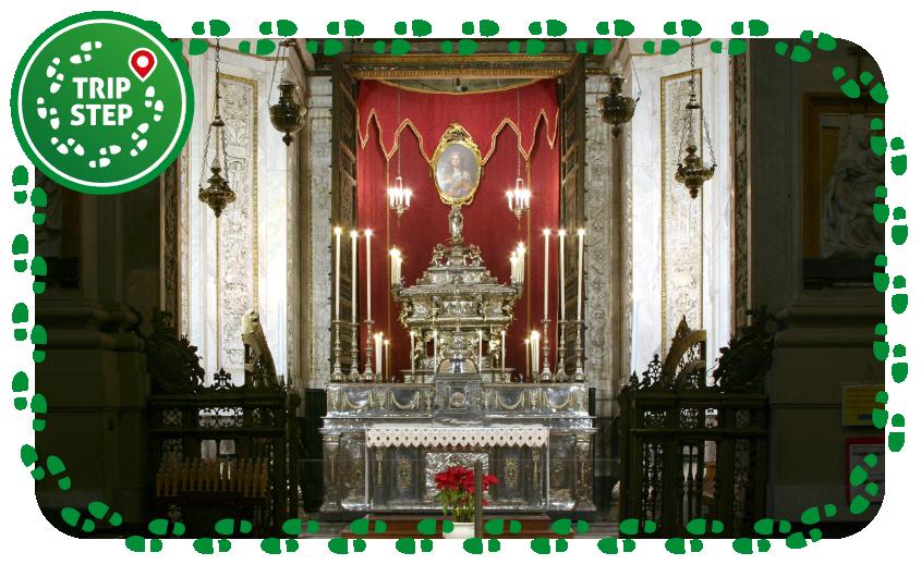 Cattedrale di Palermo cappella Santa Rosalia foto di: José Luiz Bernardes Ribeiro-via via Wikimedia Commons