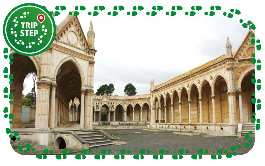Cimitero monumentale di Caltagirone foto di: Davide Mauro via Wikimedia Commons