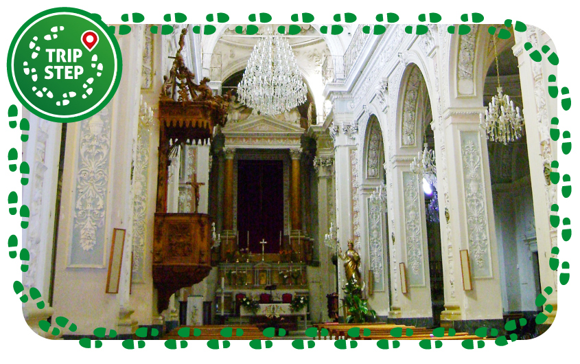 Monterosso Almo interno della chiesa di San Giovanni Battista foto di: Catarella via Wikimedia Commons