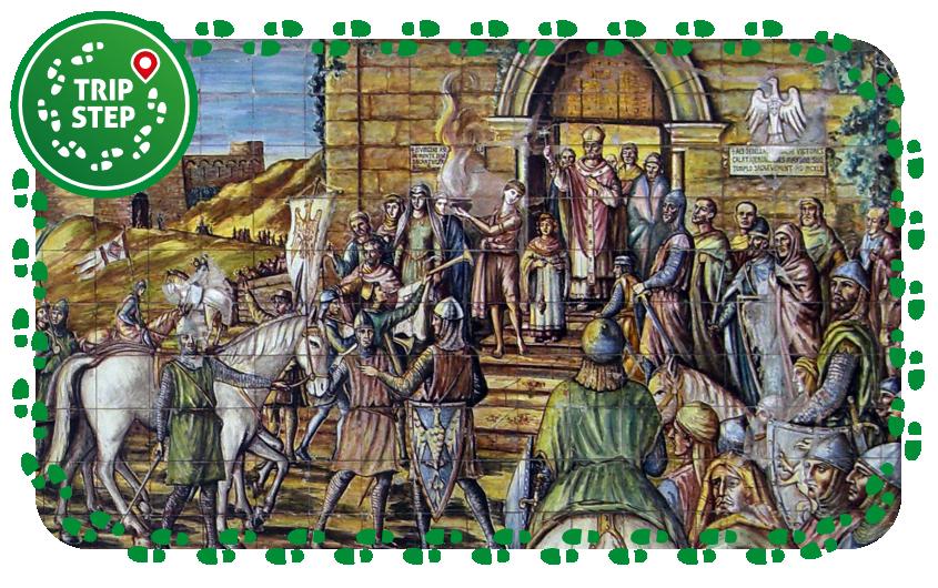 Mosaico di Caltagirone foto di: Pino Romano via Wikimedia Commons