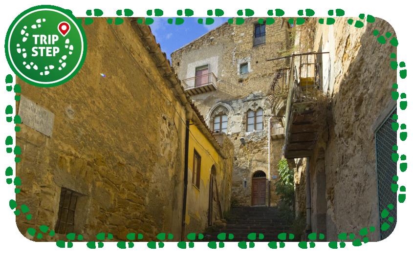 Particolare del centro storico di Agrigento foto di: trolvag via Wikimedia Commons