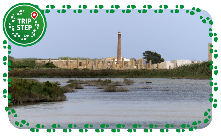 Riserva naturale orientata Oasi Faunistica di Vendicari panorama con la antica tonnara foto di: Giomodica via Wikimedia Commons