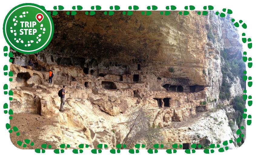 Riserva naturale orientata Cavagrande del Cassibile Grotta dei briganti foto di: Davide Mauro via Wikimedia Commons
