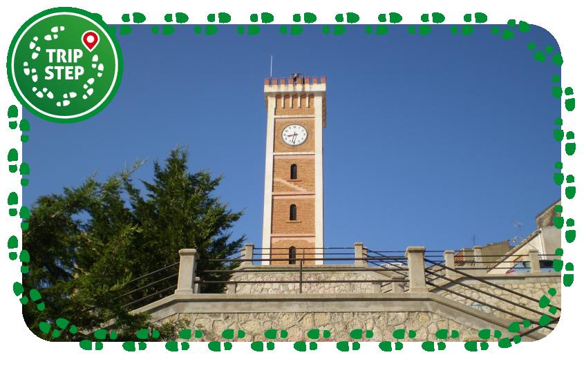 torre civica di San Cataldo foto di Savattieri Emanuele via Wikimedia Commons