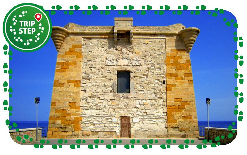 Trapani torre Ligny foto di: Leandro Neumann Ciuffo via Wikimedia Commons